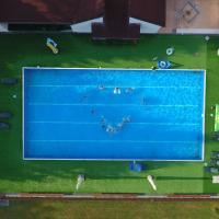 nadhled bazéna